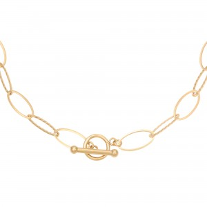 ketting-airy-links-stainless-steel-goud