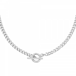 ketting-chunky-stainless-steel-zilver