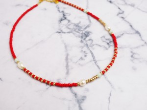 diy-pakket-kralenketting-red-gold