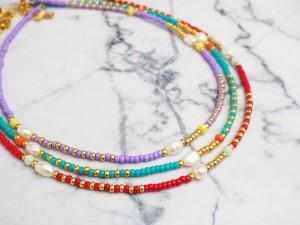 diy-pakket-kralenketting-blue-red-pearl-gold-meerkettingen