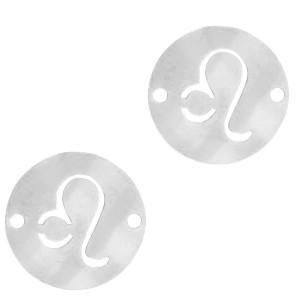 bedel-tussenzetsel-sterrenbeeld-leeuw-zilver-stainless-steel-12mm
