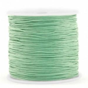 Macrame draad 0.8mm basil green per meter