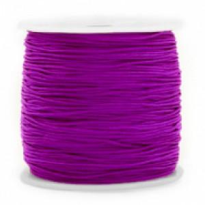 Macrame draad 0.8mm purple per meter