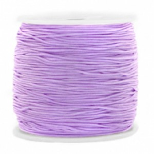 Macrame draad 0.8mm violet lila per meter
