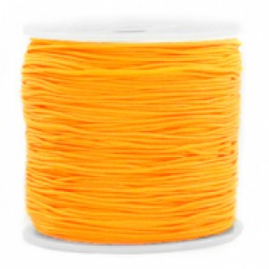 Macrame draad 0.8mm warm yellow per meter