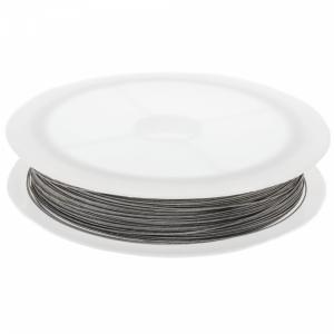 Metaaldraad zilver 0.35mm rol 25 meter
