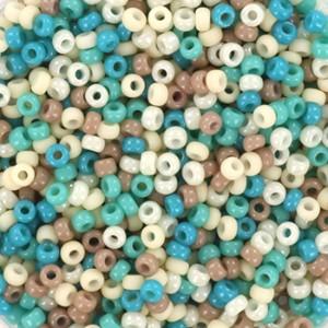 Miyuki rocailles 11/0 (2mm) 5 gram mix 24