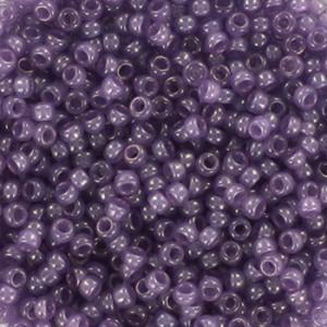 Miyuki rocailles 11/0 (2mm) 5 gram ceylon translucent lavender
