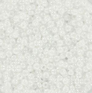 Miyuki rocailles 11/0 (2mm) 5 gram ceylon white pearl