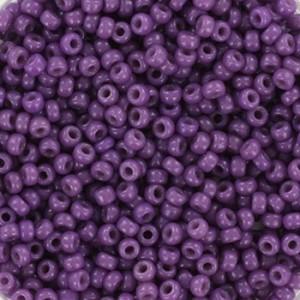 Miyuki rocailles 11/0 (2mm) 5 gram duracoat opaque anemone