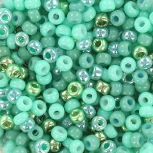 Miyuki rocailles 8/0 (3mm) 5 gram mix 13