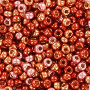 Miyuki rocailles 8/0 (3mm) 5 gram mix 23