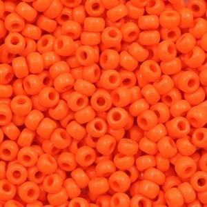 Miyuki rocailles 8/0 (3mm) 5 gram opaque orange