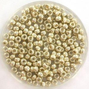 Miyuki rocailles 8/0 (3mm) 5 gram duracoat galvanized silver