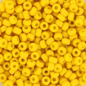 miyuki-rocailles-8-0-3mm-5-gram-opaque-matte-canary
