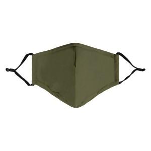 Mondkapje niet medisch army green
