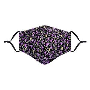 Mondkapje niet medisch flower 7