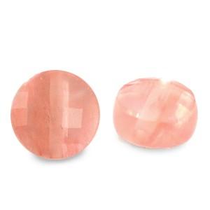 Natuursteen rond kralen 7mm Rose Pink