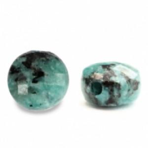 Natuursteen rond kralen 7mm turquoise blue