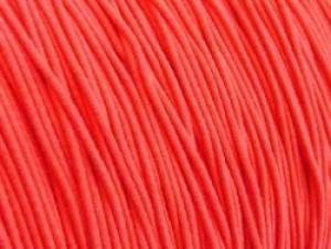 Gekleurd elastiek 0,8mm 10 meter neon roze