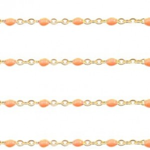 stainless-steel-balletjes-jasseron-1mm-orange-goud-per-20cm