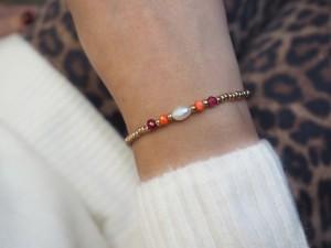 DIY pakket kralen armband miyuki rocailles en zoetwaterparel