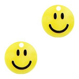 Plexx bedel smiley rond sunrise yellow 12mm