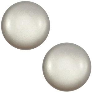 Polaris cabochon 12mm classic ice grey