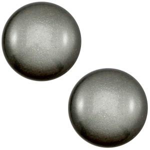 Polaris cabochon 12mm classic silver night