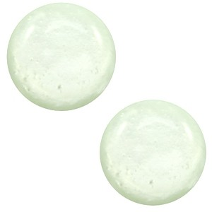 Polaris cabochon 12mm shiny relaxing green