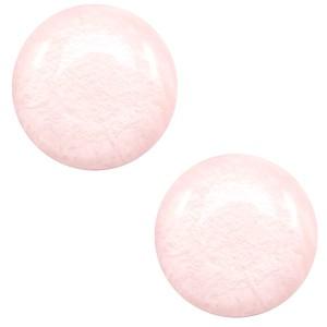 Polaris cabochon 12mm shiny whisper pink
