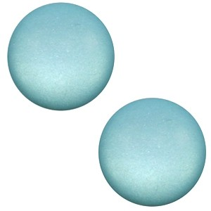 Polaris cabochon 7mm matt eton blue