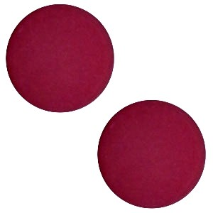 Polaris cabochon 7mm matt velvet purple