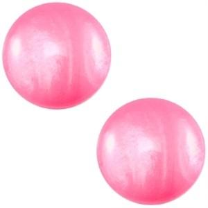 Polaris cabochon 7mm mosso shiny magenta pink