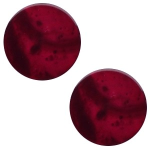 Polaris cabochon 7mm mosso shiny royale aubergine