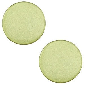 Polaris cabochon 7mm salvia green