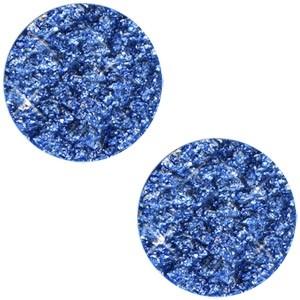 Polaris cabochon plat 12mm goldstein cobalt sapphire blue