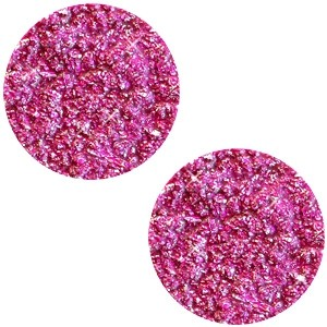 Polaris cabochon plat 12mm goldstein fuchsia