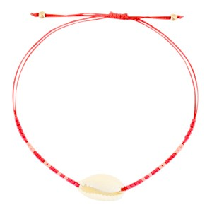 armbandje-kauri-miyuki-red