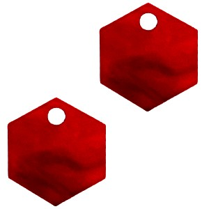 resin-hangers-hexagon-cherry-red-14mm-per-stuk