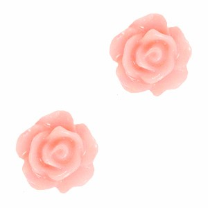 Roosjes kralen 10mm bridal rose