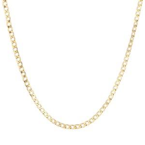 Schakelketting gourmet small goud stainless steel