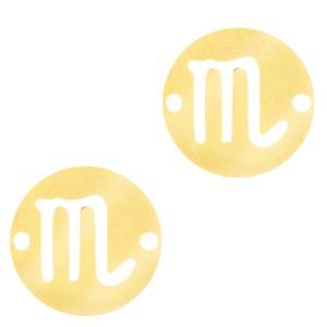 bedel-tussenzetsel-sterrenbeeld-schorpioen-goud-stainless-steel-12mm