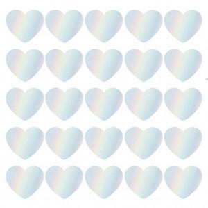 Sluitstickers 50mm SOW & GROW hearts (per 5 stuks)