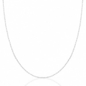 Stainless steel ketting zilver 60cm