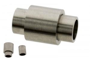 Stainless steel magneetslot tube 20x11mm rvs