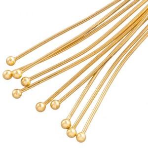 stainless-steel-nietstift-met-bolletje-40mm-goud-nikkelvrij