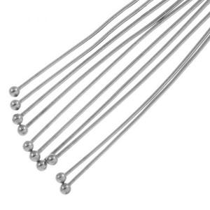 stainless-steel-nietstift-met-bolletje-40mm-zilver-nikkelvrij