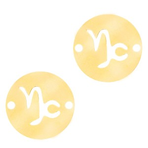 bedel-tussenzetsel-sterrenbeeld-steenbok-goud-stainless-steel-12mm