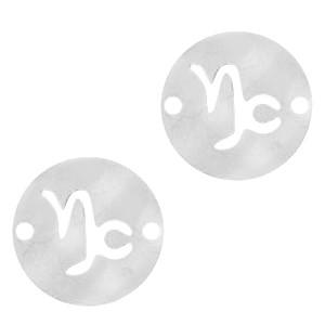 bedel-tussenzetsel-sterrenbeeld-steenbok-zilver-stainless-steel-12mm